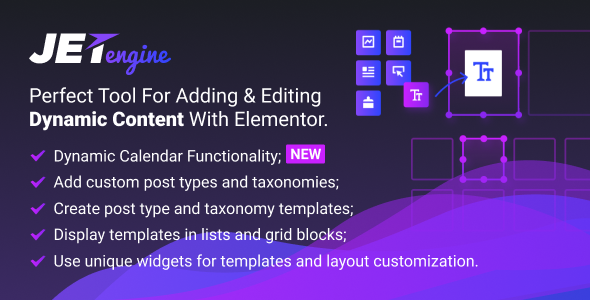 Download JetEngine v2.5.5 - Adding & Editing Dynamic Content Free / Nulled