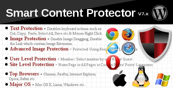 Download Smart Content Protector v8.2 - Pro WP Copy Protection Free / Nulled