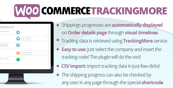 Download WooCommerce TrackingMore v3.7 Free / Nulled