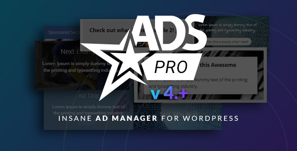 Download Ads Pro Plugin v4.3.9 - Multi-Purpose Advertising Manager Free / Nulled