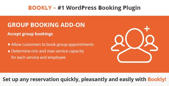 Download Bookly Group Booking (Add-on) v2.0 - Free / Nulled