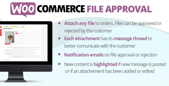 Download WooCommerce File Approval v1.2.7 Free / Nulled