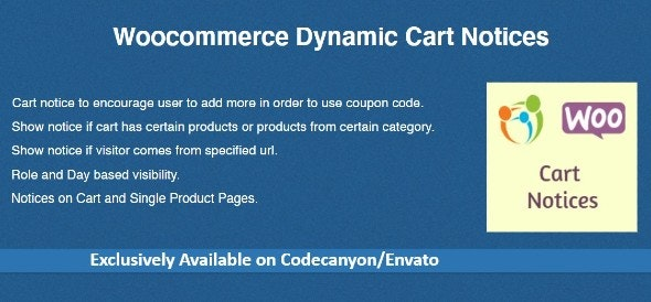 Download Woocommerce Dynamic Cart Notices v1.1.0 Free / Nulled