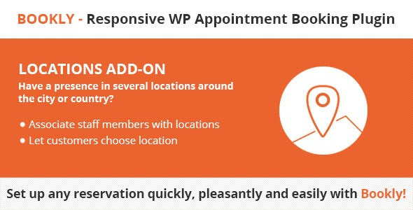 Download Bookly Locations (Add-on) v3.4 Free / Nulled