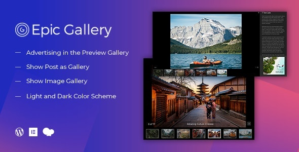 Download Epic Zoom Gallery v1.0.2 - WordPress Plugin & Add Ons for Elementor & WPBakery Page Builder Free / Nulled