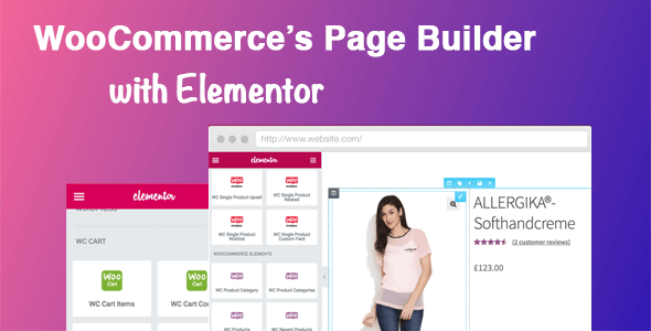 Download DHWC Elementor v1.2.4 - WooCommerce Page Builder with Elementor Free / Nulled