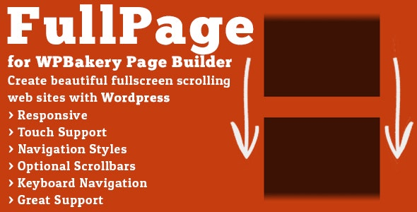 Download FullPage for WPBakery Page Builder v2.1.3 Free / Nulled