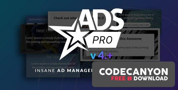 Download Ads Pro Plugin v4.3.95 – Multi-Purpose WordPress Advertising Manager (Nulled) Free / Nulled