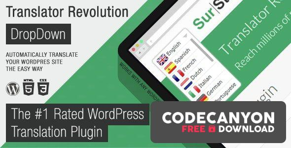 Download Ajax Translator Revolution DropDown WP Plugin v2.1 Free / Nulled