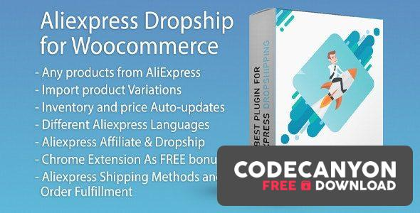 Download AliExpress Dropshipping Business plugin for WooCommerce v1.11.8 Free / Nulled