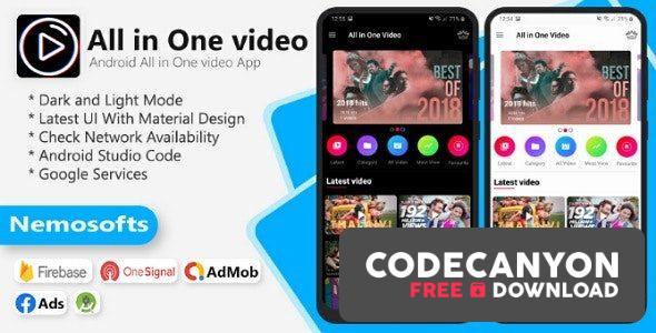 Download All In One Videos Apps (12 July 20) Free / Nulled