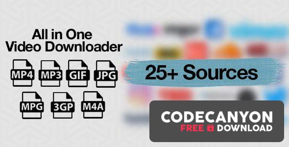 Download All in One Video Downloader Script v1.11.0 (Nulled) Free / Nulled