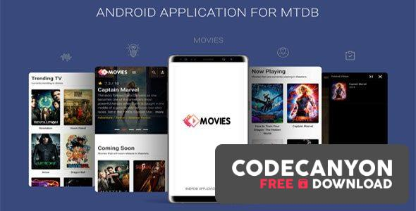 Download Android Application For MTDB v4.0 – Ultimate Movie&TV Database Free / Nulled