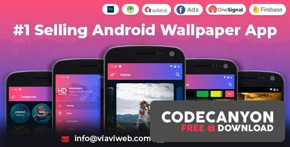 Download Android Wallpapers App v1.0 – (HD, Full HD, 4K, Ultra HD Wallpapers) (Nulled) Free / Nulled