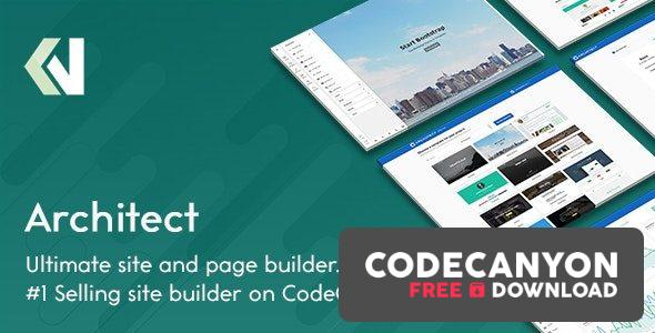 Download Architect v2.2.2 – HTML and Site Builder Free / Nulled