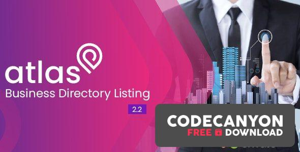Download Atlas Business Directory Listing v2.5 (Nulled) Free / Nulled