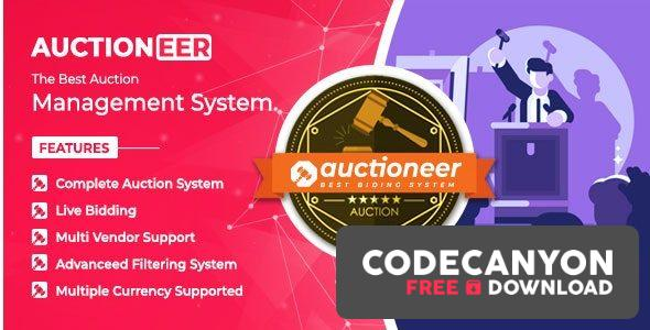Download Auctioneer v1.0 – Full Auction management Free / Nulled