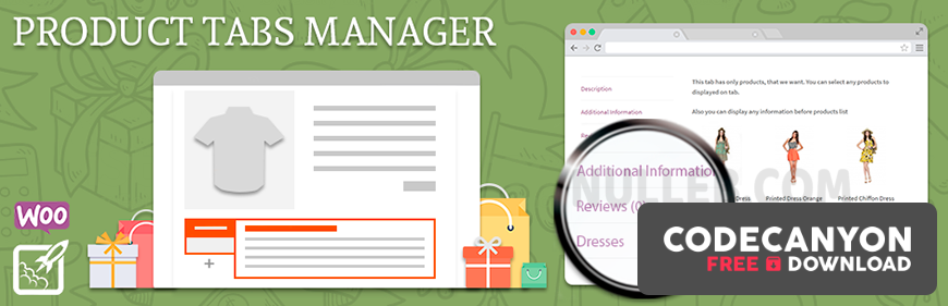 Download BeRocket WooCommerce Product Tabs Manager v3.0.1.12 Free / Nulled