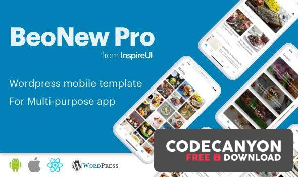 Download BeoNews Pro v4.0 – React Native mobile app for WordPress Free / Nulled