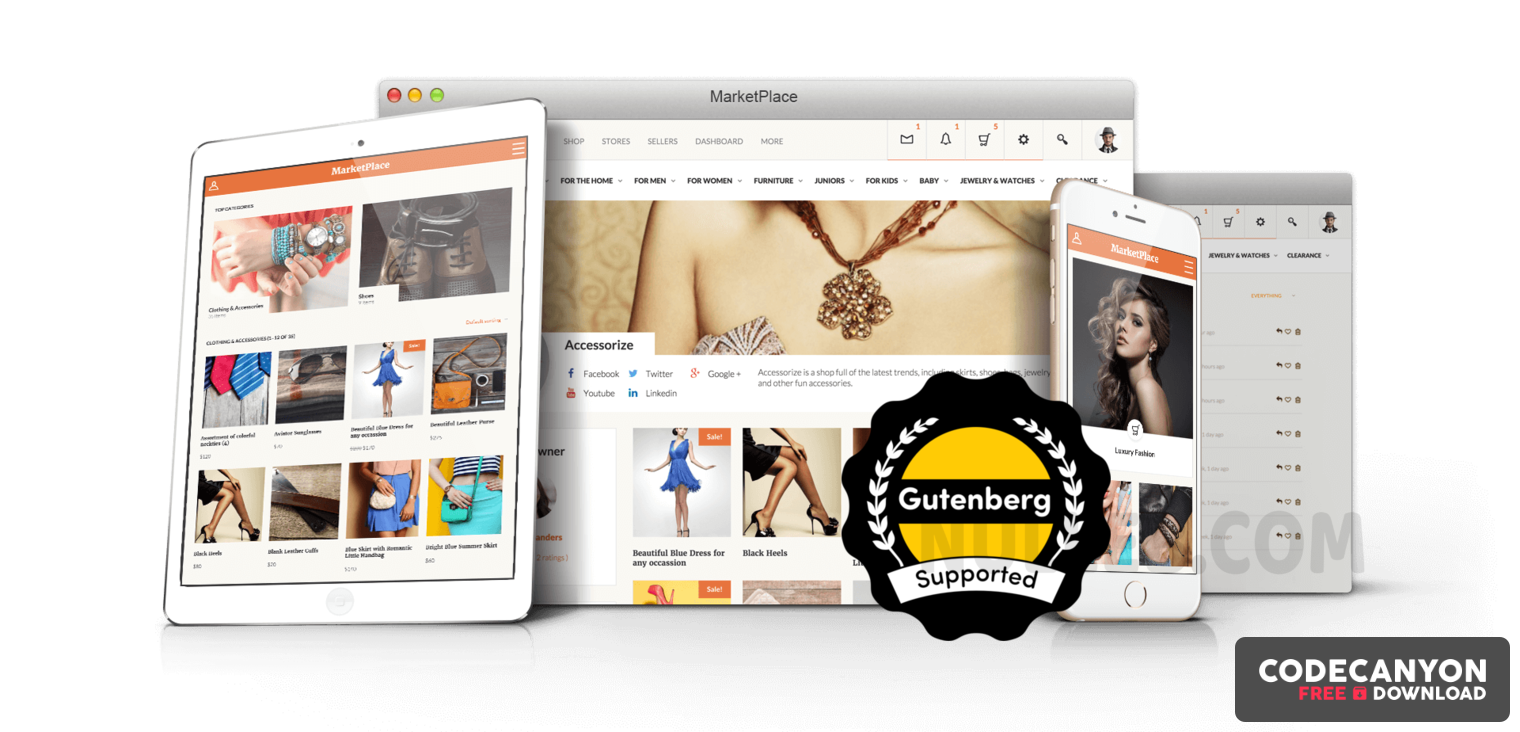 Download BuddyBoss Social MarketPlace v1.7.0 – Own WordPress Online Store Free / Nulled