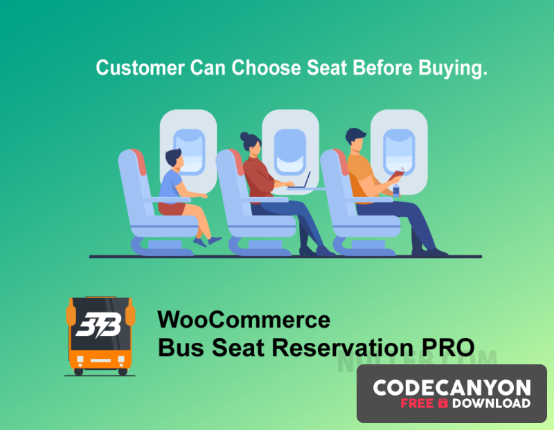 Download Bus Ticket Booking with Seat Reservation PRO v4.0 Free / Nulled