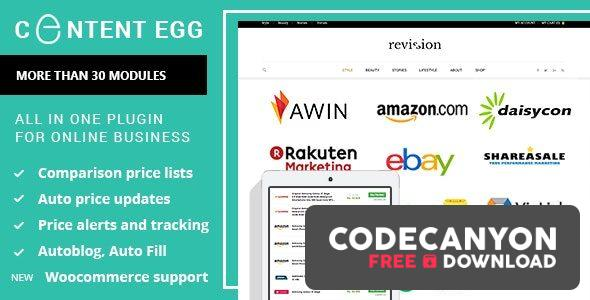 Download Content Egg v8.1.0 – all in one plugin for Affiliate, Price Comparison, Deal sites (Nulled) Free / Nulled