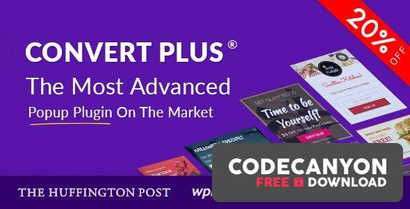 Download ConvertPlus v3.5.16 – Popup Plugin For WordPress (Nulled) Free / Nulled