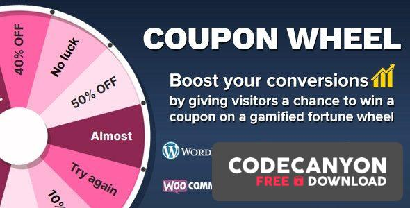 Download Coupon Wheel For WooCommerce and WordPress v3.3.8 Free / Nulled
