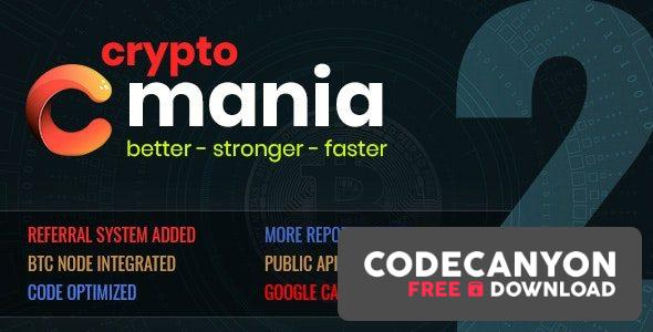 Download Cryptomania Exchange Pro 2.0.4 – cryptocurrency trade Free / Nulled
