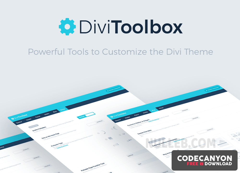 Download Divi Toolbox v1.6.8 – Powerful Divi Theme Customization Tools Free / Nulled