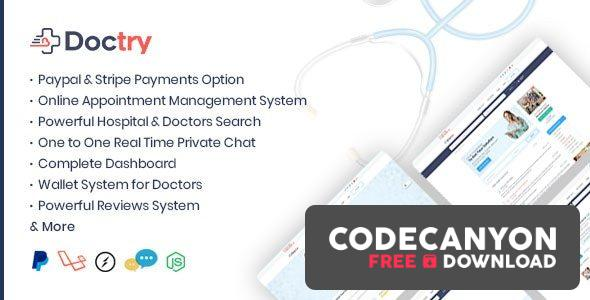 Download Doctry v1.4 – Doctors and Hospitals Listing Theme Free / Nulled