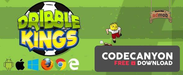 Download Dribble Kings v1.0 – HTML5 Football Game (.capx) Free / Nulled