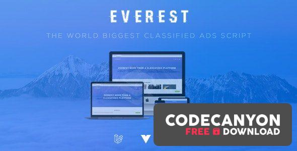 Download EVEREST v2.0 – PHP Classified Ads Script (Nulled) Free / Nulled
