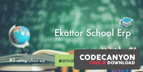 Download Ekattor School Management System v7.2 (Nulled) Free / Nulled
