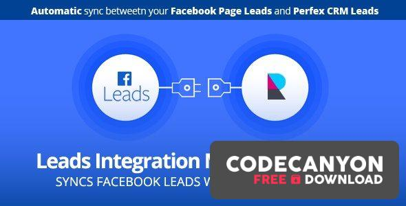 Download Facebook Leads integration module for Perfex CRM v1.0c Free / Nulled