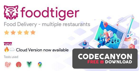 Download FoodTiger v1.5.0 – Food delivery – Multiple Restaurants Free / Nulled