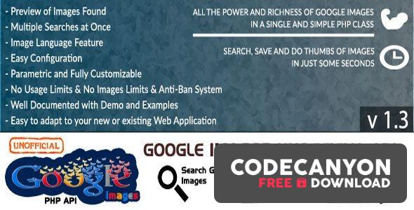 Download Google Images – Unofficial API v1.3 Free / Nulled