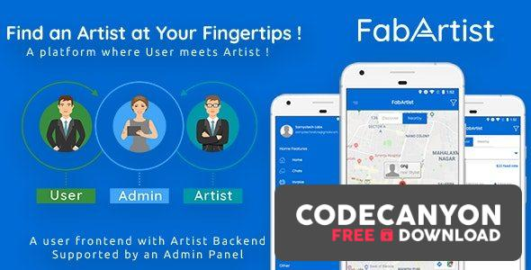 Download Hire for Work (15 Oct 2020) – Fab Artist Android | 2 Apps | Customer App + Artist App + Admin Panel | Freelancer Free / Nulled
