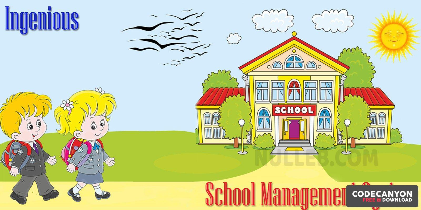 Download Ingenious School Management System v1.0 Free / Nulled