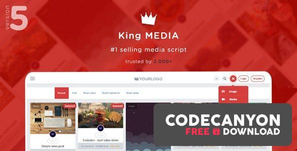 Download King Media v5.2 – Viral Magazine News Video (Nulled) Free / Nulled