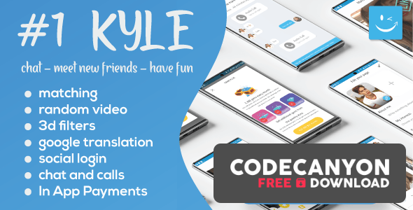 Download Kyle v25.0 – Premium Random Video & Dating and Matching Free / Nulled