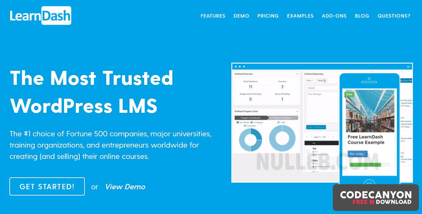 Download LearnDash v3.3.0.3 + Addons (Nulled) Free / Nulled