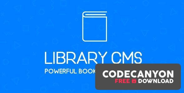 Download Library CMS v2.2.0 – Powerful Book Management System (Nulled) Free / Nulled