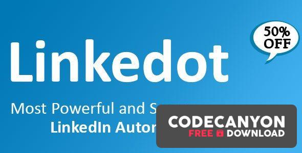 Download Linkedot 1.8.2.1 – Linkedin Automation Tool Free / Nulled