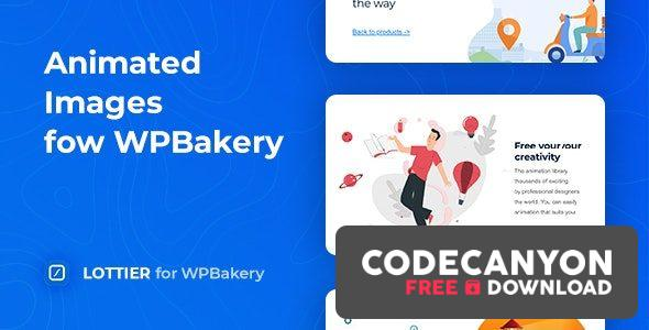 Download Lottier v1.0.2 – Lottie Animated Images for WPBakery Free / Nulled