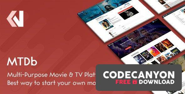 Download MTDb v3.2.3 – Ultimate Movie&TV Database Free / Nulled