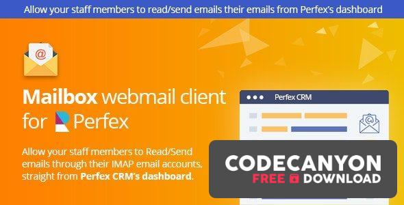 Download Mailbox – Webmail client for Perfex CRM v1.0k Free / Nulled