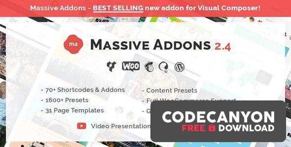 Download Massive Addons for WPBakery Page Builder v2.4.8 Free / Nulled