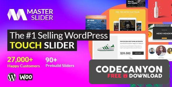 Download Master Slider v3.4.7 – Touch Layer Slider WordPress Plugin (Nulled) Free / Nulled