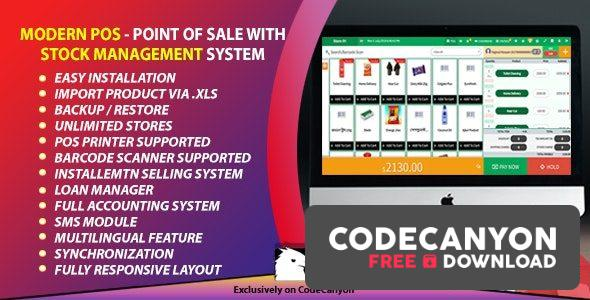 Download Modern POS v3.2 – Point of Sale with Stock Management System Free / Nulled
